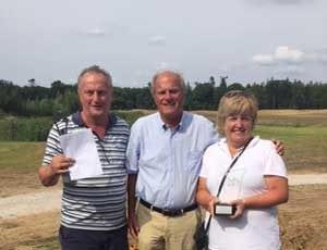 Frank en Eveline Knuppe winnaars handicart wedstrijd